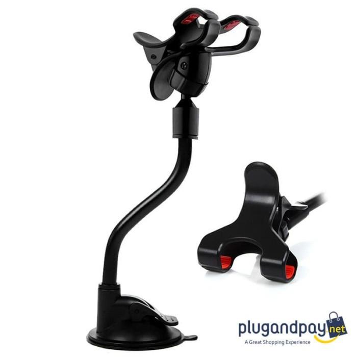 Foto Produk Holder Smartphone Mobil Lazypod Flexible Z1 dari plugandpay