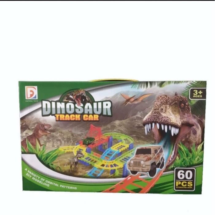 Jual Mainan Anak Dinosaurus Dengan Mobil Track Dinosaurus Track Car Jakarta Pusat Binashoptoys Tokopedia