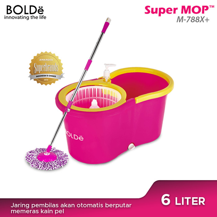 Foto Produk BOLDe Super Mop M-788x+ - Biru dari BOLDe Official Store
