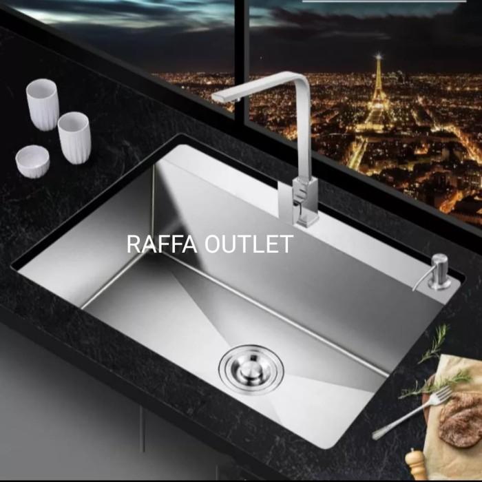 Foto Produk kitchen sink osaka model bolzano 6046/bak cuci piring/sink dari Raffa outlet