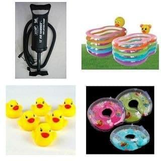Foto Produk Mainan Anak Paket Kolam Spa Bayi Intime Boneka Pompa Tabung dari Toko-Ku by FAS-TOP