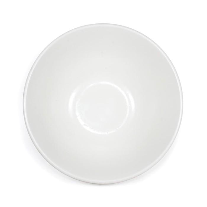 Foto Produk Artisan Ceramic | White Doff-Rock Bowl | Mangkok Keramik dari Artisan Ceramic