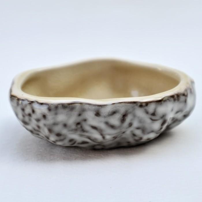 Foto Produk Artisan Ceramic | Gold Crackle Mini Condiment | Tempat Saus Keramik dari Artisan Ceramic