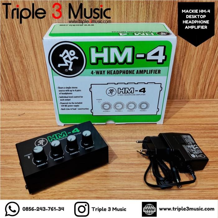 Foto Produk MACKIE HM4 HM 4 hm-4 Mini Headphone amplifier dari triple3music