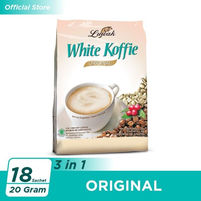 Foto Produk Kopi Luwak White Koffie Original Bag 18x20gr dari Kopi Luwak Official