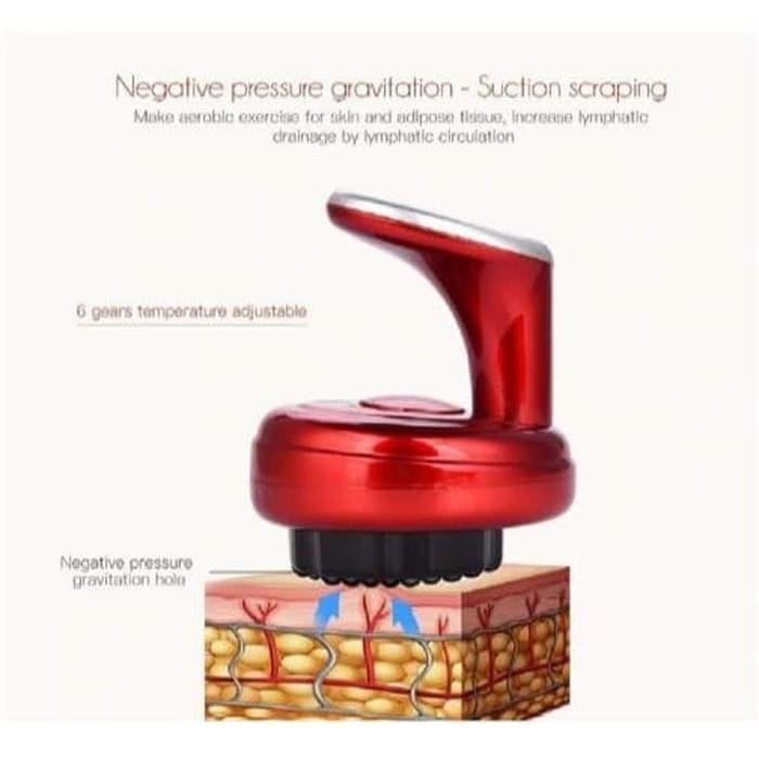 Foto Produk Massage Scraping Electric Vacum Terapi Kikis Pijat Tubuh Mesin Bekam dari grosirltc