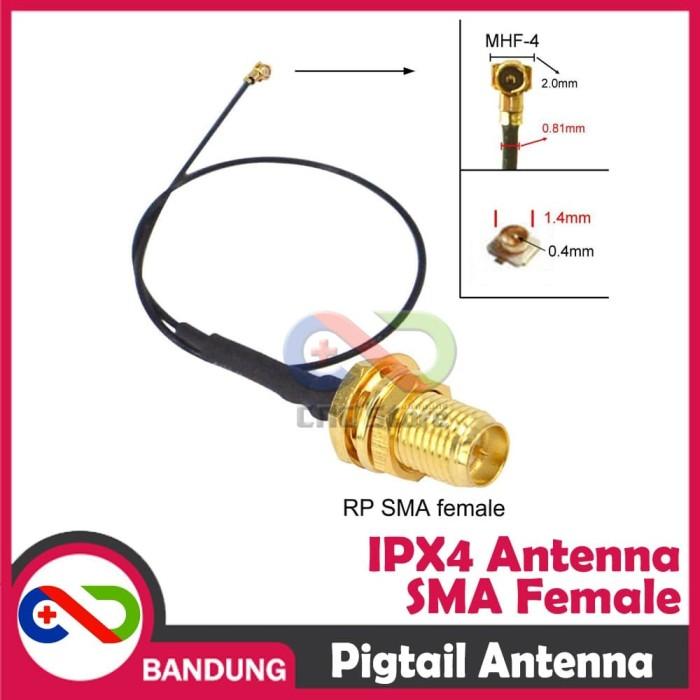 Foto Produk PIG TAIL PIGTAIL ANTENNA SIM800 GSM GPRS ESP8266 ESP32 dari CNC STORE BANDUNG