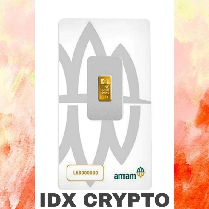Foto Produk 1 Gr Emas Antam Certieye/Certicard - Tahun 2020 dari IDX Crypto
