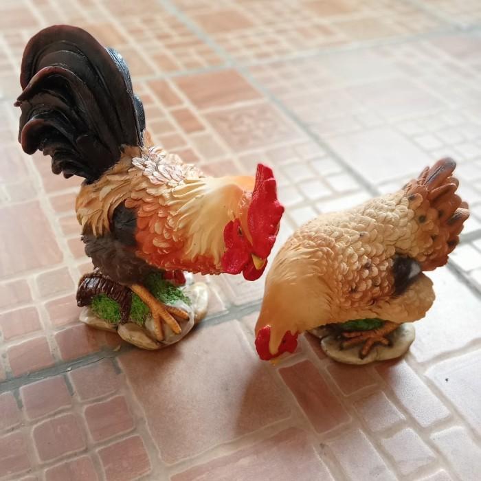 Jual Patung Ayam Jantan Betina Nunduk Kab Tangerang Importir Souvenir Tokopedia