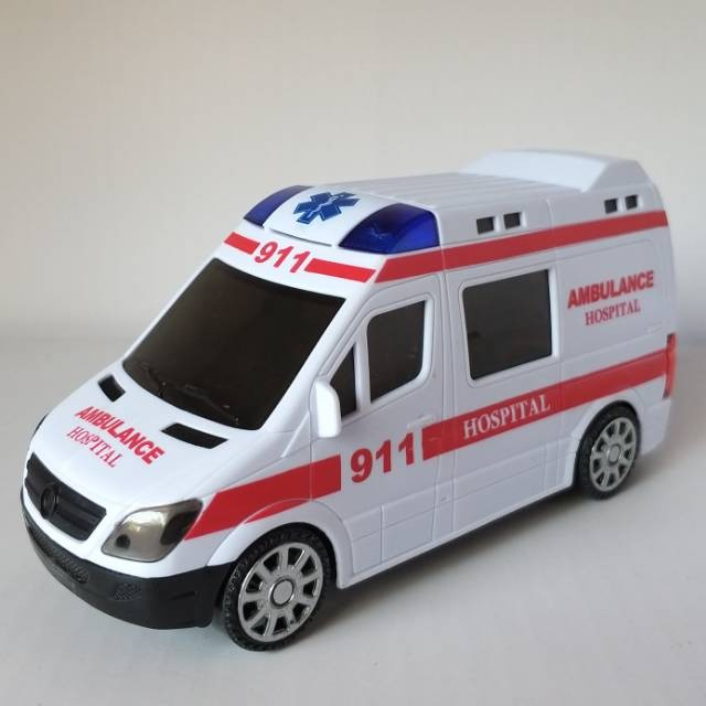 Jual Mobil Ambulance Mainan Anak Mobil Ambulans Dokter Rumah Sakit Jakarta Selatan Nirsella25 Mall Tokopedia