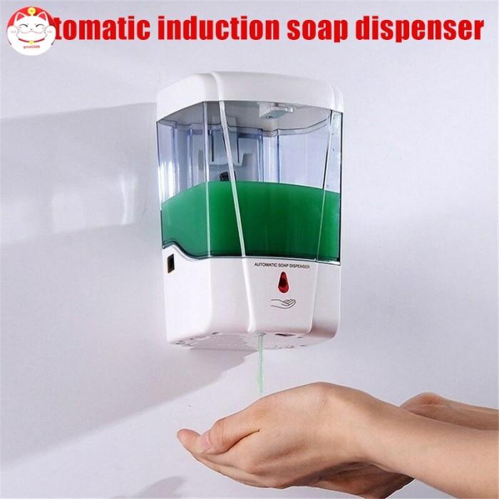 Jual 600 700ml Automatic Sensor Soap Dispenser Touchless Wall Mounted Jakarta Barat Keranjang Belaja Tokopedia