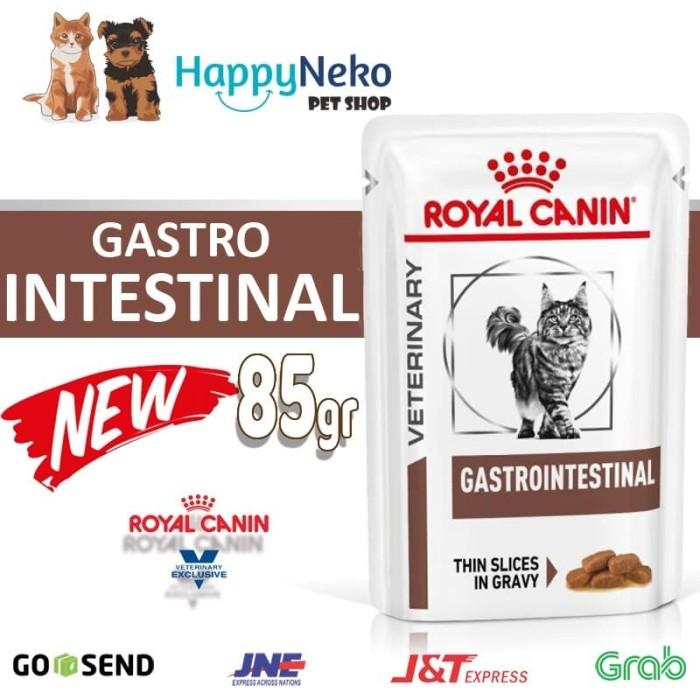Jual Royal Canin Gastro Intestinal Cat 100 Gr Makanan Khusus Kucing Mencret Jakarta Selatan Happyneko Pet Shop Tokopedia