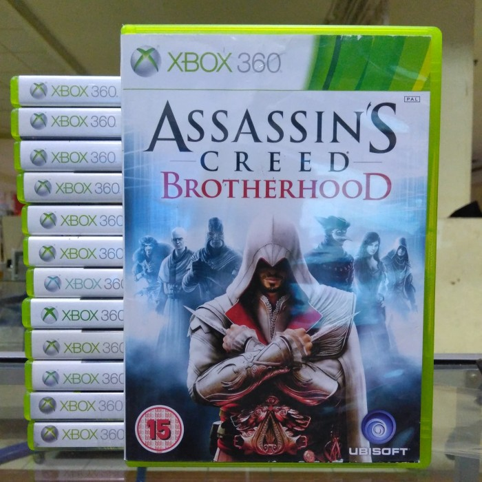 Jual Hot Sale Kaset Game Xbox 360 Assassins Creed Brothorhood