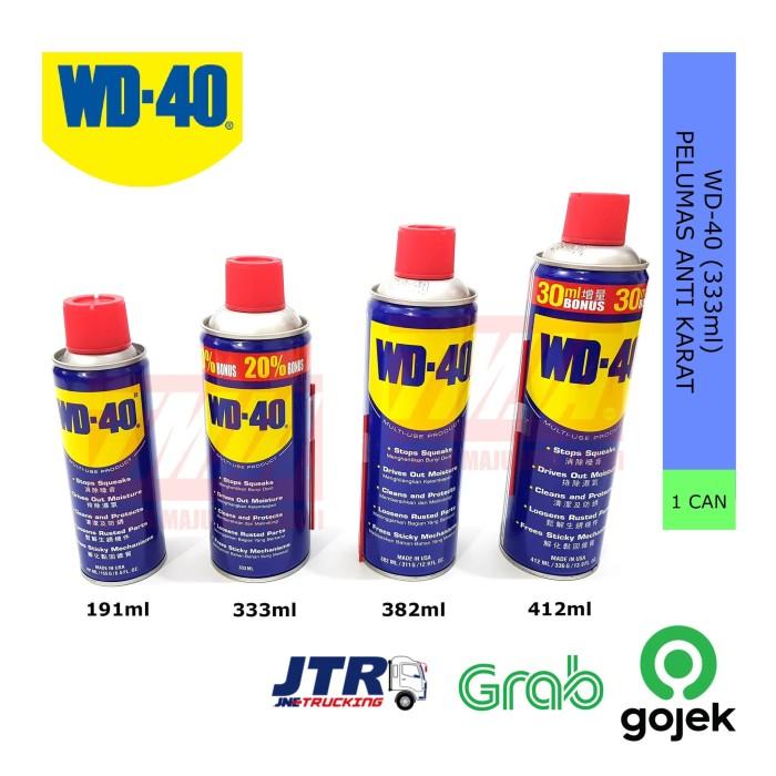 Foto Produk WD-40 Pelumas Anti Karat WD40 (333ml) dari Teknik Maju Jaya Abadi
