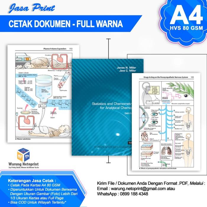 Jual Jasa Print Cetak Dokumen Full Warna Kertas Hvs A4 80 Gsm Kab Tangerang Warung Netoprint Tokopedia