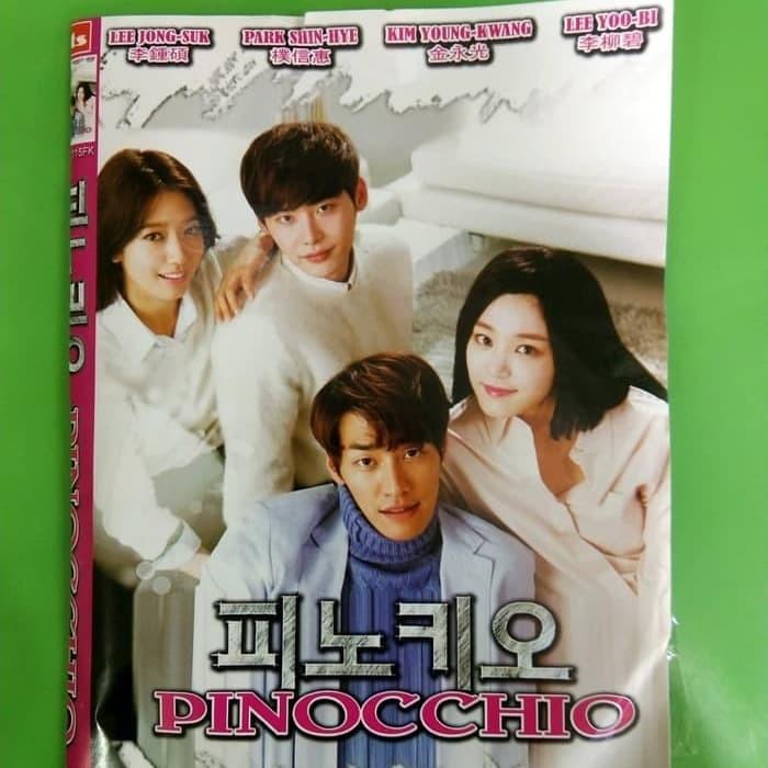 Foto Produk Kaset DVD Serial Drakor Pinocchio ( 4disc/End ) dari FRIENDSTOREEE