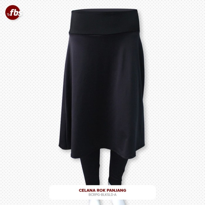 Foto Produk FBS Celana Rok Panjang Hitam Muslimah Legging High Weist HW Olahraga dari FBS - Flower Body Sports