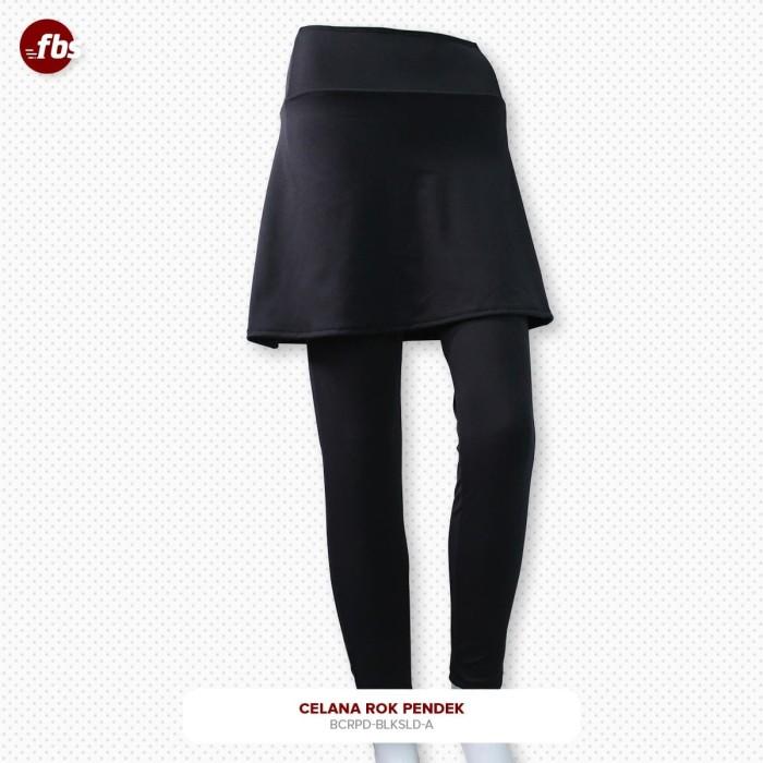 Foto Produk FBS Celana Rok Pendek Hitam Muslimah Legging High Weist HW Olahraga dari FBS - Flower Body Sports