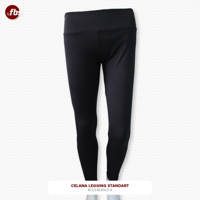 Foto Produk FBS Celana Legging Standart Hitam High Weist HW Premium Olahraga dari FBS - Flower Body Sports