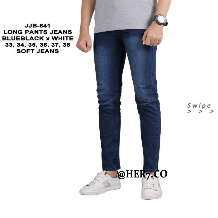 Foto Produk Celana Denim Pensil 33-38 JUMBO Panjang Pria Celana Jeans panjang dari her7.co