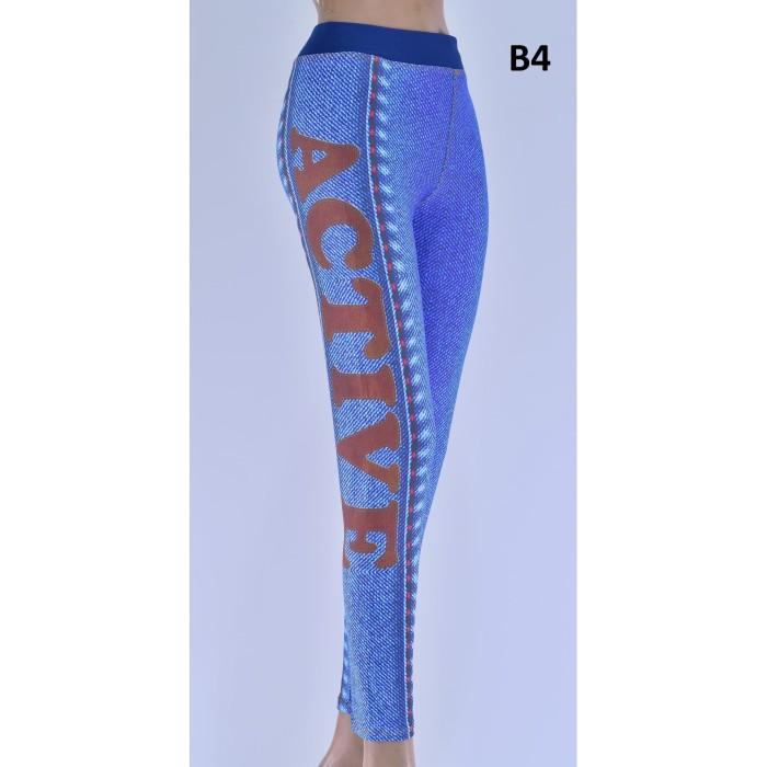 Jual Celana Legging Dewasa Celana Panjang Legging Legging Motif Biru B1 Xl Jakarta Barat Toko Timurjaya Tokopedia