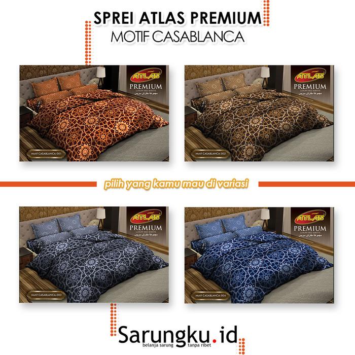 Foto Produk SPREI ATLAS PREMIUM MOTIF CASABLANCA - Cover dari SarungkuID