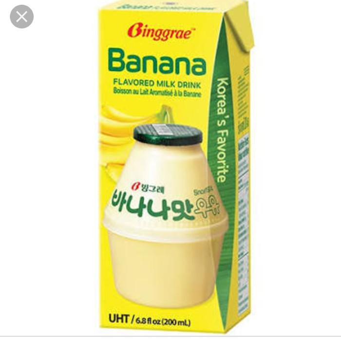 Jual Binggrae Banana Milk Korea 200ml Jakarta Barat Jcstarshope Tokopedia