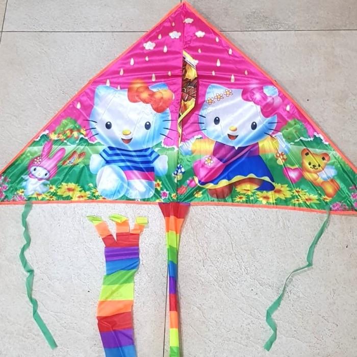 Jual Layangan Layang Hello Kitty Water Proof Lipat Import Keren Kab Badung D Salv Tokopedia