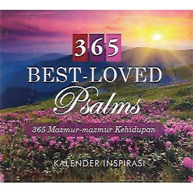 Foto Produk 365 Best-Loved Psalms (365 Mazmur Kehidupan) - Kalender Inspirasi dari CV Pionir Jaya