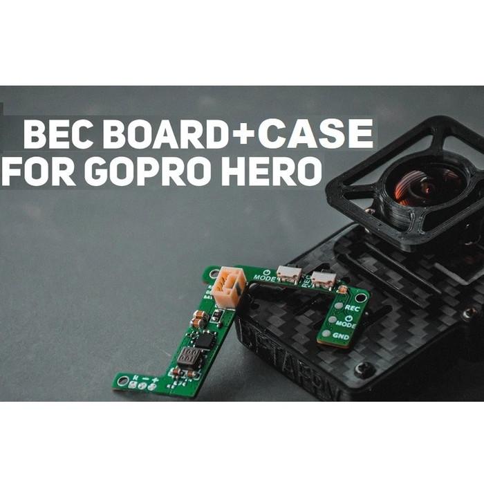 Foto Produk BetaFPV Case for GoPro Hero Lite Camera with BEC dari DooFPV