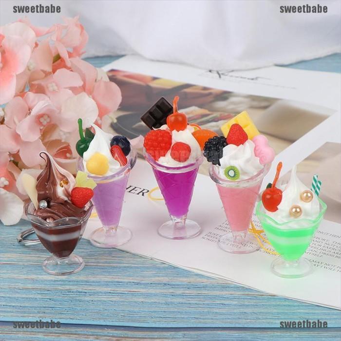 Jual Miniatur Cangkir Es Krim Untuk Bermain Peran Rumah Boneka Jakarta Barat My Shopcollection Tokopedia