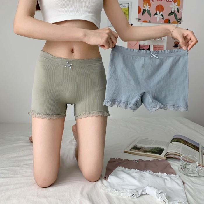 Jual Celana Legging Pendek Wanita Dengan Model Potongan Slim Dan Jakarta Barat Dhea02 Store Tokopedia