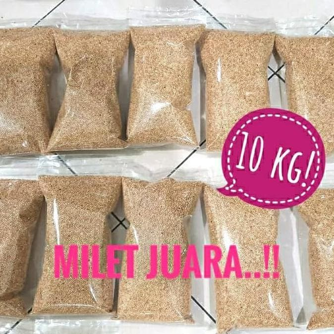 Jual Promo Palmira White Milet Putih 10kg Khusus Gosend Grab Pakan Lovebird Kota Tangerang Cullen Mart534 Tokopedia