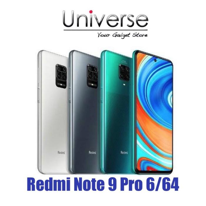 Foto Produk Xiaomi Redmi Note 9 Pro 6/64 GB - Garansi Resmi Xiaomi Indonesia - Hijau dari Universe Store
