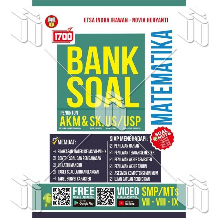 Promo Buku 1700 Plus Bank Soal Matematika Smp Mts Akm Sk Us Usp Kab Bandung Yrama Widya Online Tokopedia