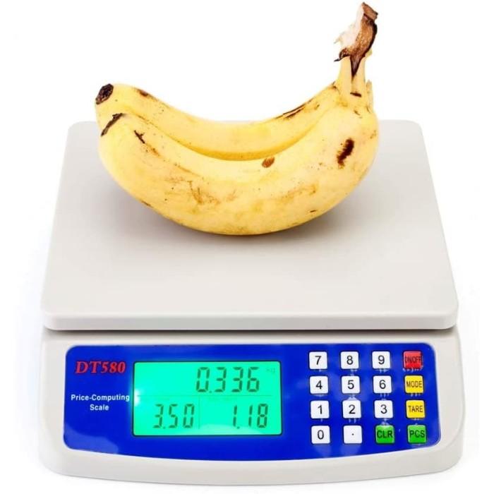 Foto Produk Timbangan Digital 30kg Usaha Dagang Komersial Buah Harga 30 kg 1 Gram dari HRDIK