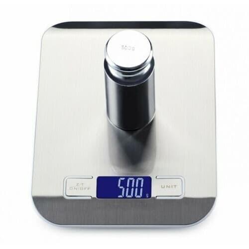 Foto Produk Timbangan Dapur 5 kg Akurasi 1 gram 5kg Digital Scale Makanan Food Kue dari HRDIK