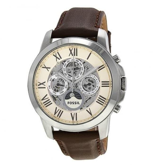 Jual Jam Tangan Fossil Automatic Brown Leather ME3027 ORIGINAL ...