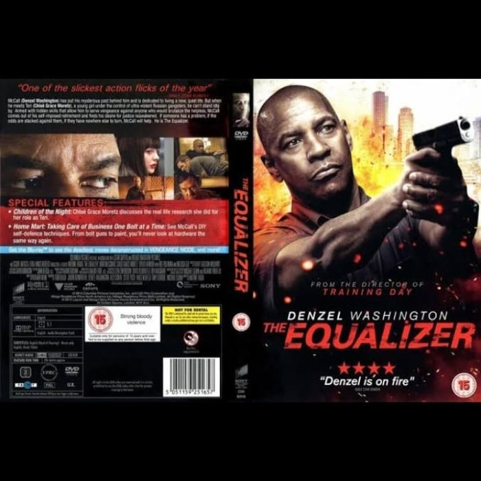 Jual Dvd Film The Equalizer 2014 Jakarta Barat Passtilaku Store Tokopedia