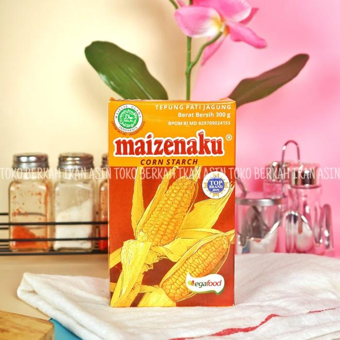 Foto Produk Tepung Maizenaku Corn Starch 300gr / Tepung Pati Jagung dari Toko BERKAH Sembako.
