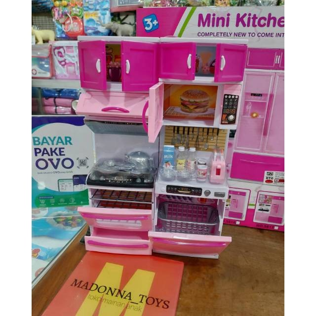 Jual Mainan Masak Kitchenset Dapur Barbie Mainan Anak Perempuan Kota Surabaya Jossstores Tokopedia