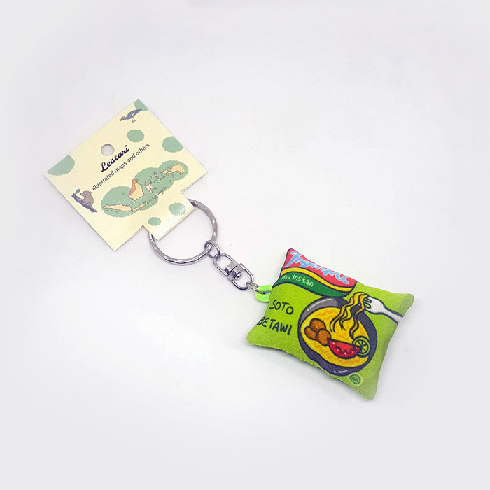 Foto Produk Inginmi Soto Betawi Keychain/Key Holder by Lestari dari LestariPostcard