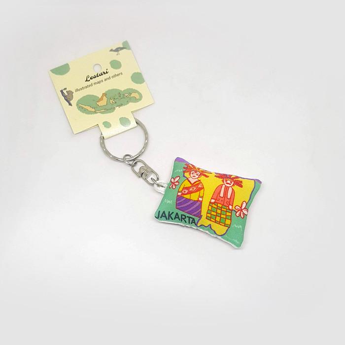 Foto Produk Jakarta Keychain/Key Holder by Lestari dari LestariPostcard