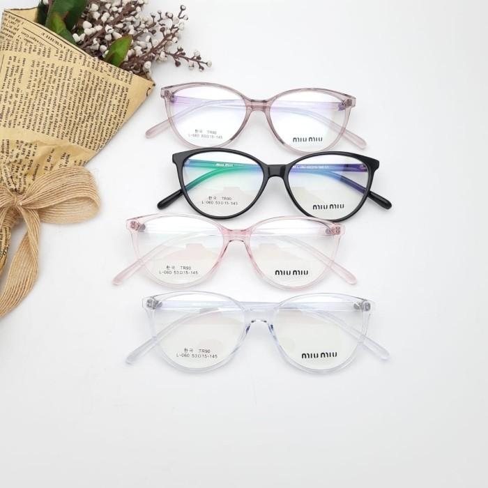 Foto Produk Frame Kacamata Wanita Miu Mata Kucing 060 dari DBStoreS