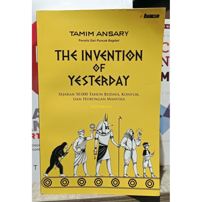 Foto Produk THE INVENTION OF YESTERDAY dari Anelinda Buku Klasik