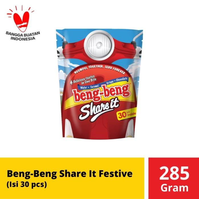 Foto Produk Beng-Beng Share It Festive MT 285 gr dari Mayora Official Store