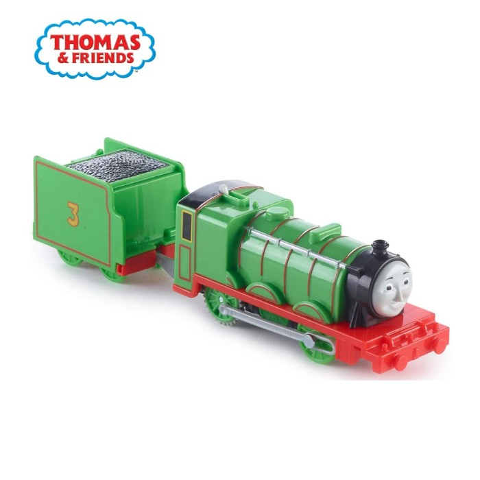 Jual Thomas And Friends Trackmaster Motorized Engine Henry Mainan Kereta Kota Tangerang Thomas Friends Tokopedia
