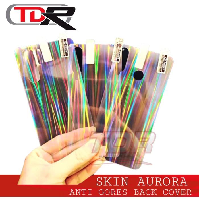 Foto Produk SKIN AURORA BACK COVER SMARTPHONE ALL TIPE LIHAT DESKRIPSI dari Tdr Acc