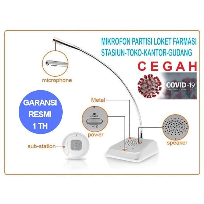 Foto Produk Microphone mikrofon mic partisi loket tiket antrian - PROMICK MY-E360 dari EtalaseBelanja
