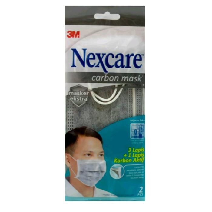 Foto Produk Masker Extra Carbon Mask (Pack Isi 2) 3M Nexcare MP-20 dari officemart